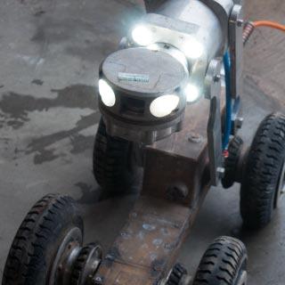 Camera robot voor rioolinspectie